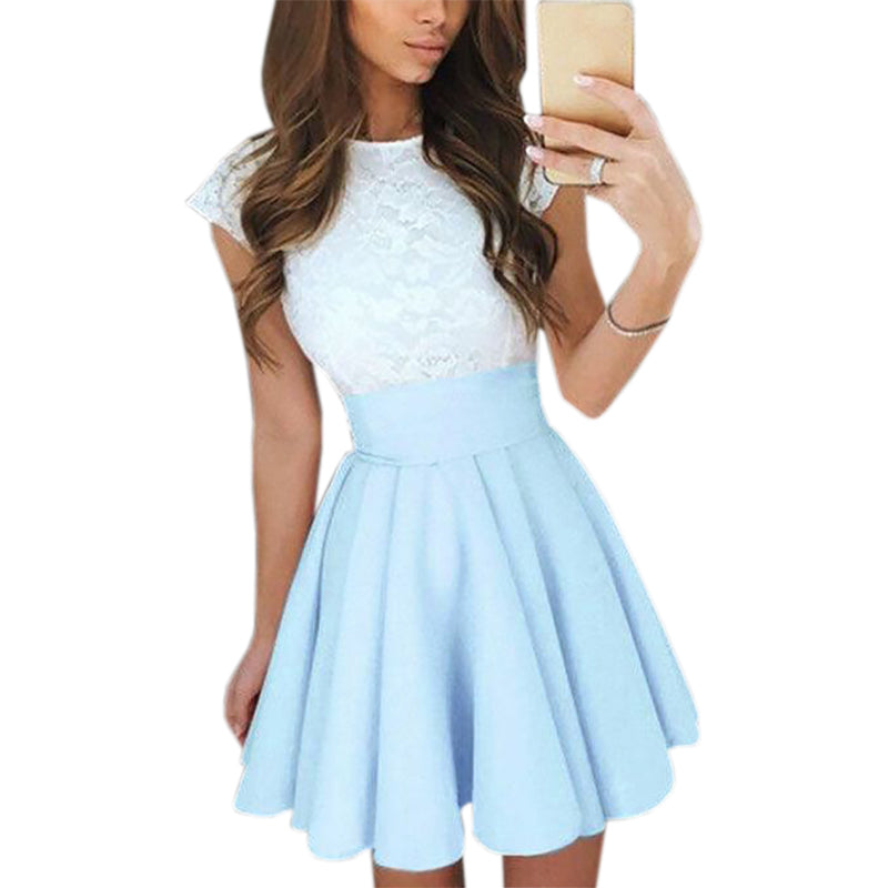 Lace Kawaii Dress Beach Summer Women Cute 2242 - online shopping wih
