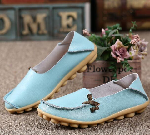 FS03 plardin  Genuine Leather breathable Women Shoes - online shopping wih