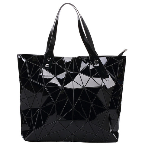 1043 Fashion Women Tote Bags BAO Fold summer Diamond Handbag