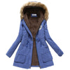 1026  women winter thicken warm coat - coolsir sunglasses