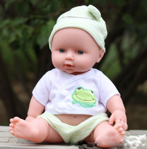 DO95 Lifelike Reborn Babies Baby Doll Soft Silicone Vinyl Real Touch Lovely Toy Dolls - online shopping wih