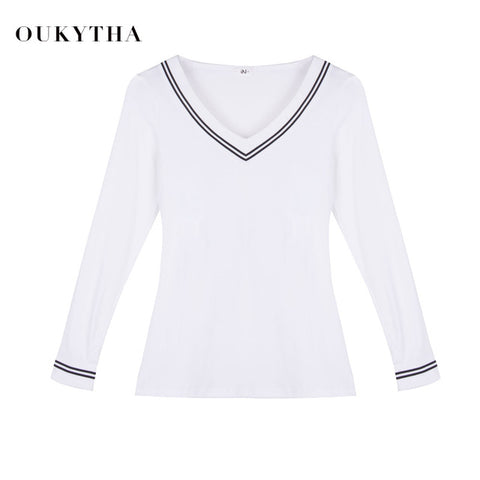 Long-sleeved T-shirt Wild Slim Primer Shirt Female Shirt 1166 - online shopping wih