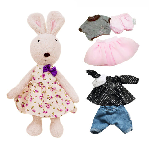 Kawaii le sucre Original bunny rabbit plush dolls & stuffed toys brinquedos hobbies for children girls stuffed kids baby toys