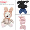 Kawaii le sucre Original bunny rabbit plush dolls & stuffed toys brinquedos hobbies for children girls stuffed kids baby toys - online shopping wih