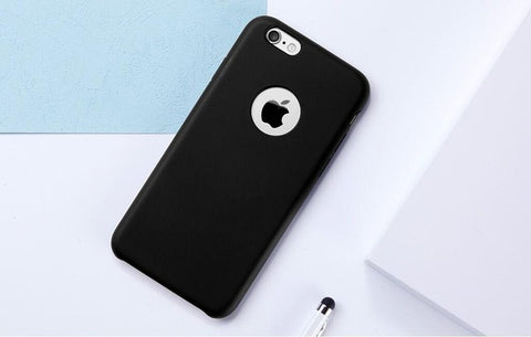 best service ff8ee e07cf TORRAS Liquid Silicone Rubber Case for iPhone 6 6S Plus Accessories Soft  Phone Cover Case Microfiber Cushion Case for iPhone 7