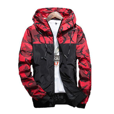 Spring Men's Camouflage Coat Mens Hoodies Casual Jacket - online shopping wih