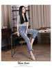 JE10 Women Summer Jeans Pants Casual Trousers For Ladies - online shopping wih