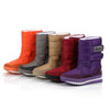 6208 Warm Solid Anti-Slip Snow Boots Women Waterproof Female - coolsir sunglasses