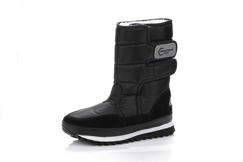 6208 Warm Solid Anti-Slip Snow Boots Women Waterproof Female - online shopping wih