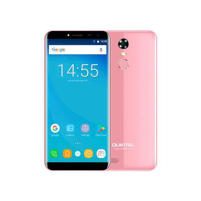 "Hot Oukitel C8 5.5"" 18:9 Infinity Display Android 7.0 3073 - online shopping wih"