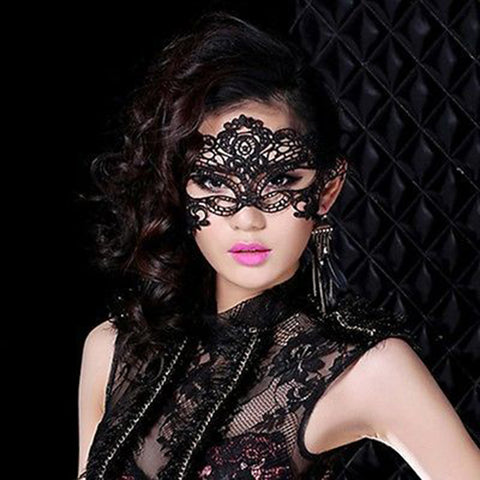 HA11 Fancy Dress Lace Ball Prom Halloween Costume - coolsir sunglasses