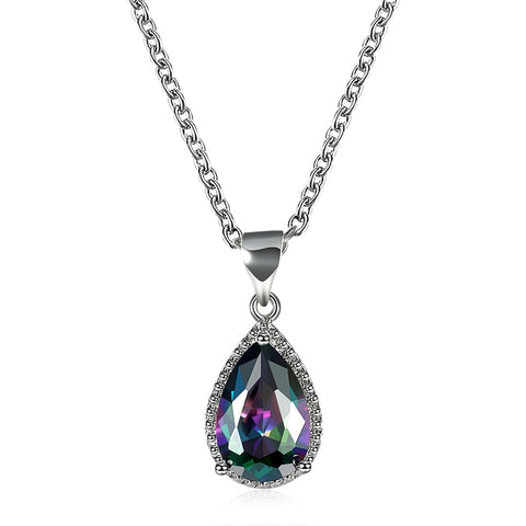 T04 Eternal Love Waterdrop Crystal Jewelery