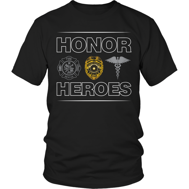 Limited Edition - Honor Heroes-POLICE
