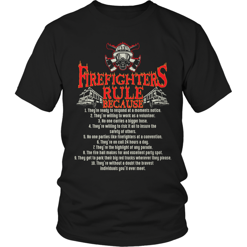 Limited Edition - Firefighter Rules