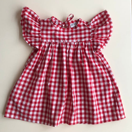 Red Gingham Pixie