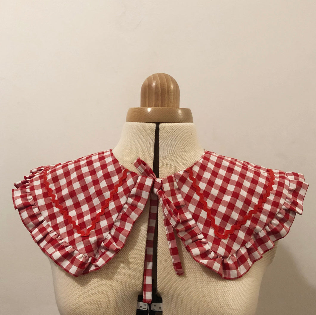 Women's Red Gingham