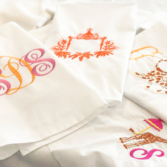 EMBROIDERY | MONOGRAMS