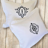 Boudoir Cushion | Framed Monogram