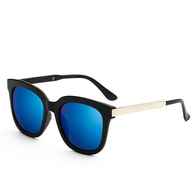 My Retro Side Sunglasses - black & blue