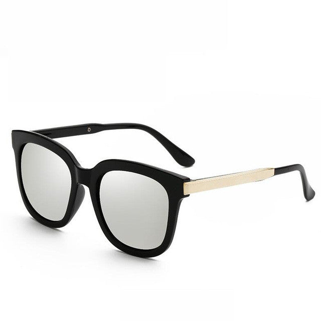 My Retro Side Sunglasses - black & silver
