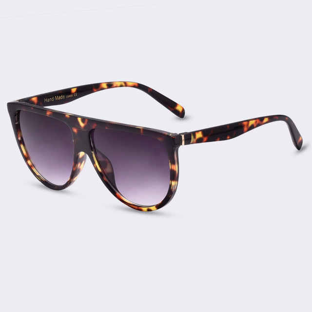 Summer & Joy Sunglasses - Animal Print & Violet