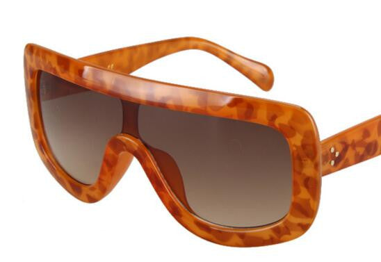 Vip Sunglasses - orange brown