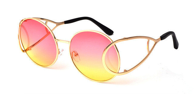 Wow Sunglasses - yellow & pink
