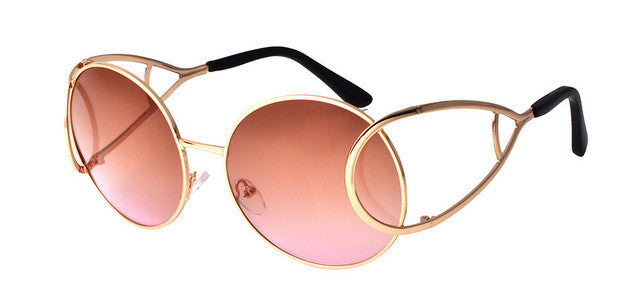 Wow Sunglasses - brown & pink