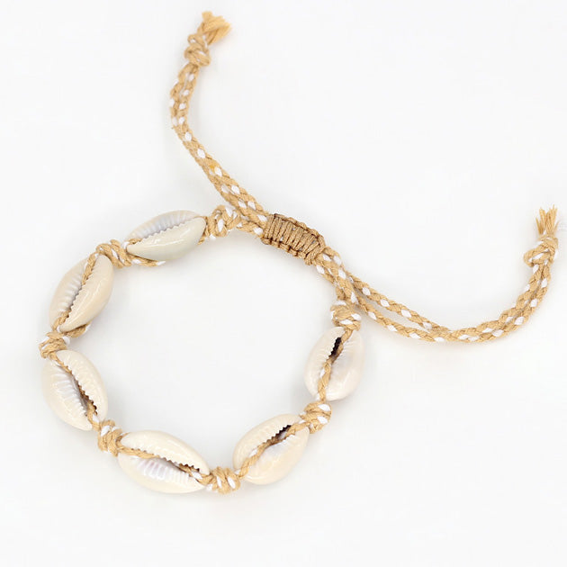 Shells Bracelet - Light Orange