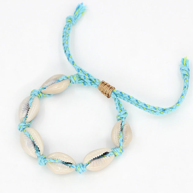 Shells Bracelet - Light Blue