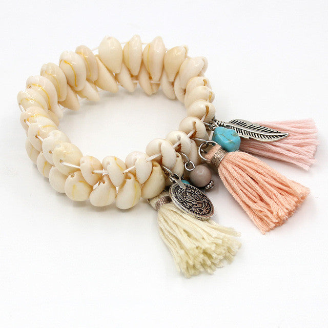 Love & Sea  Bracelet - nude