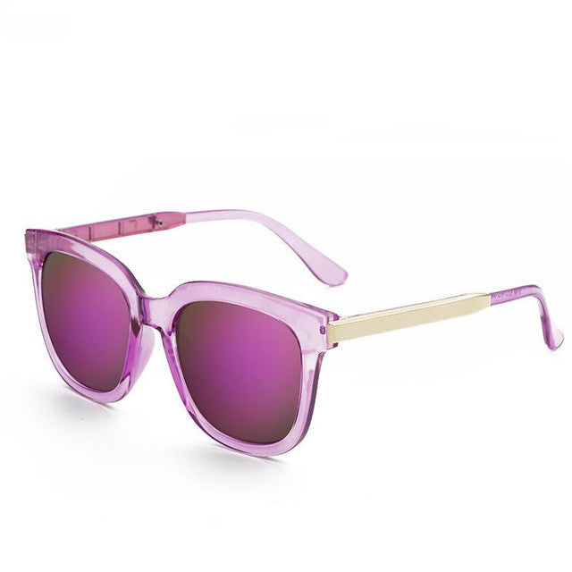 My Retro Side Sunglasses - fucsia