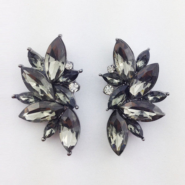 Opal Summer Earrings - Black