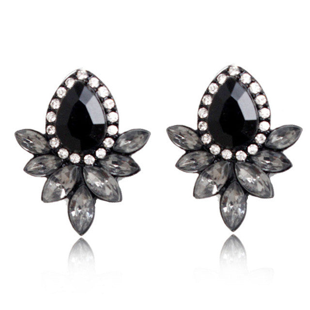 Magic Summer Earrings - Black