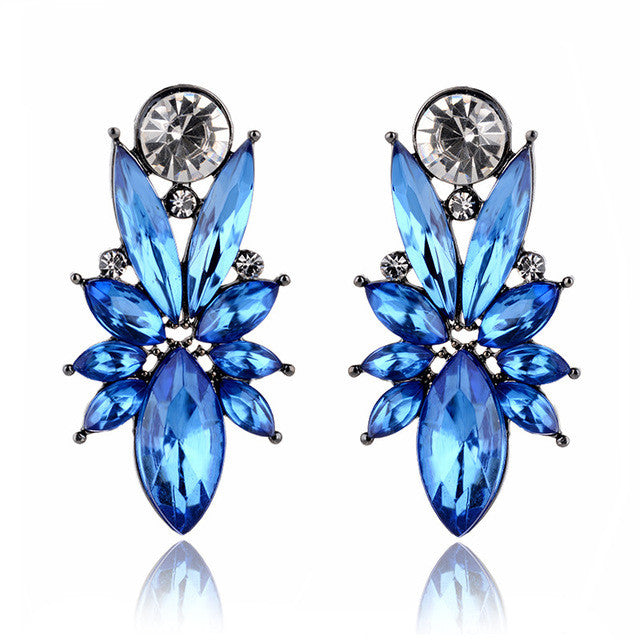 I'm So In Love Earrings - Blue