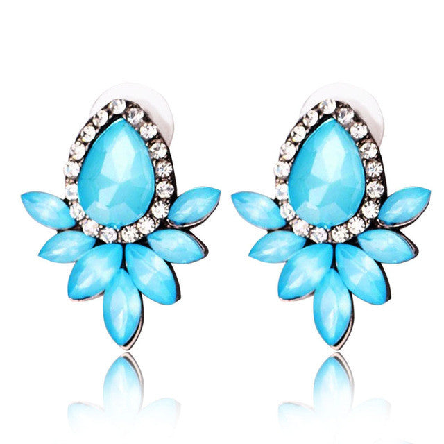 Magic Summer Earrings  - Blue