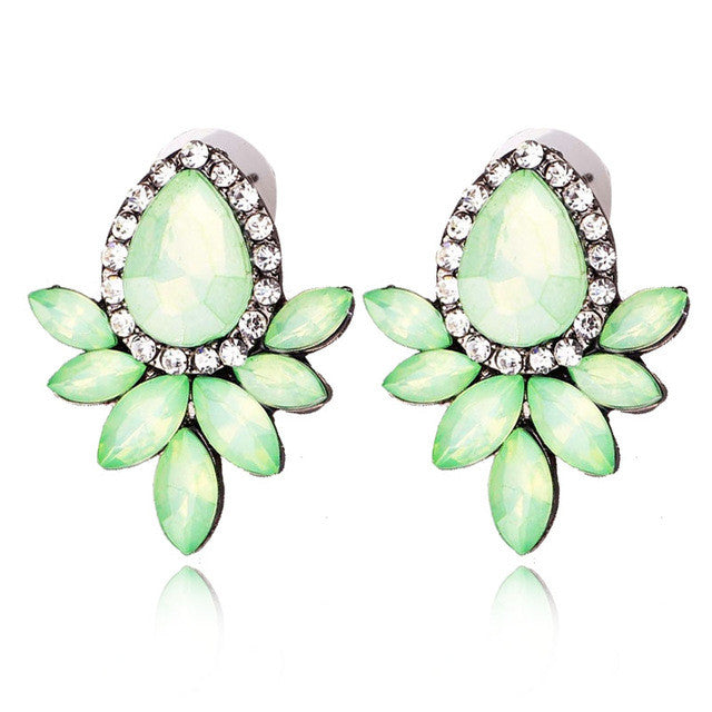 Magic Summer Earrings - Light  Green