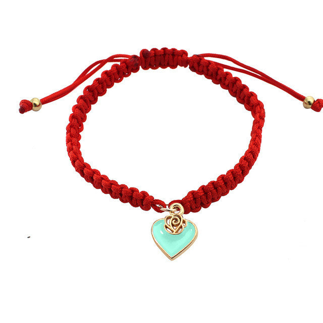 Pure Red Love Bracelet - light blue