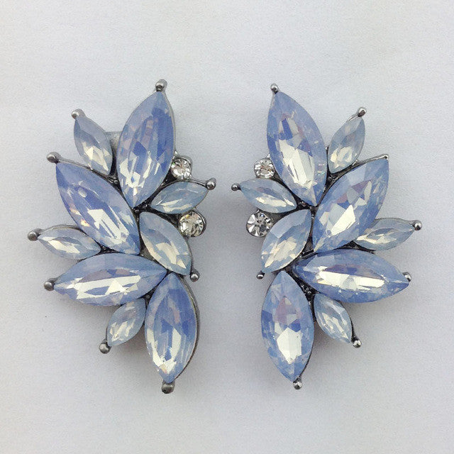 Opal Summer Earrings - Opal Blue