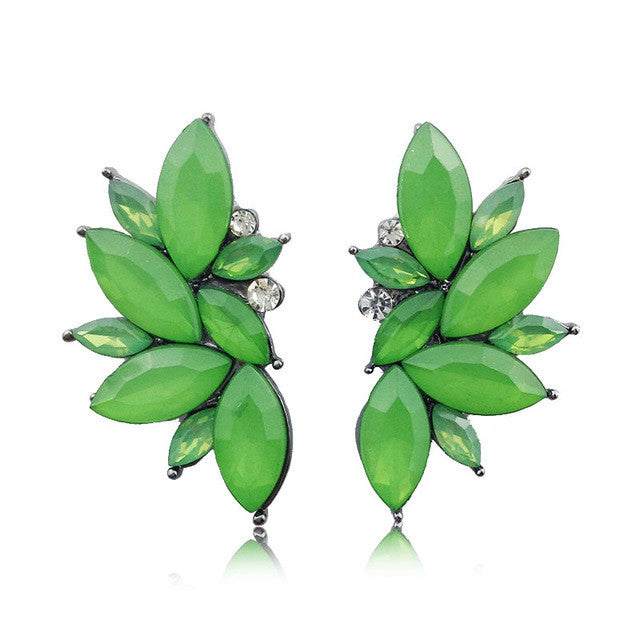 Opal Summer Earrings - Opal Green