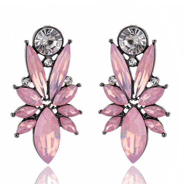 I'm So In Love Earrings - Opal Pink