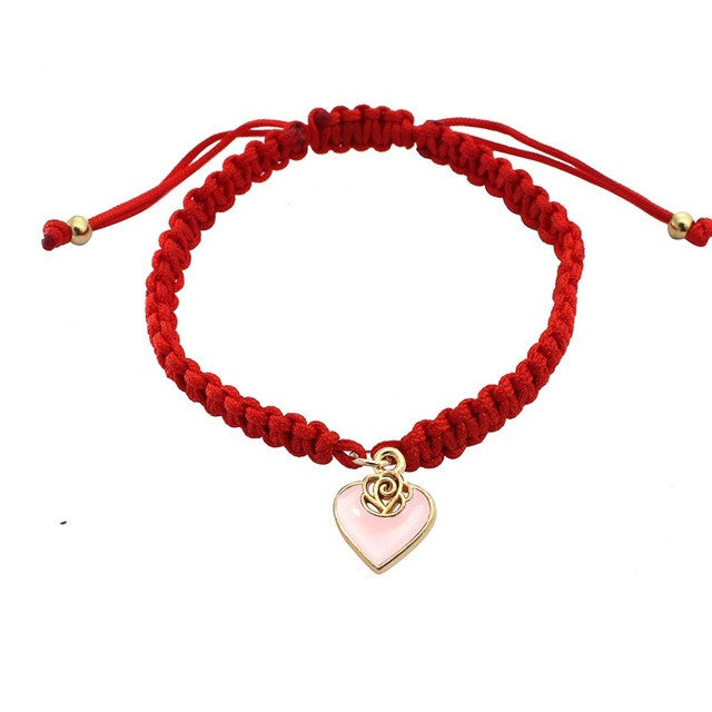 Pure Red Love Bracelet - pink