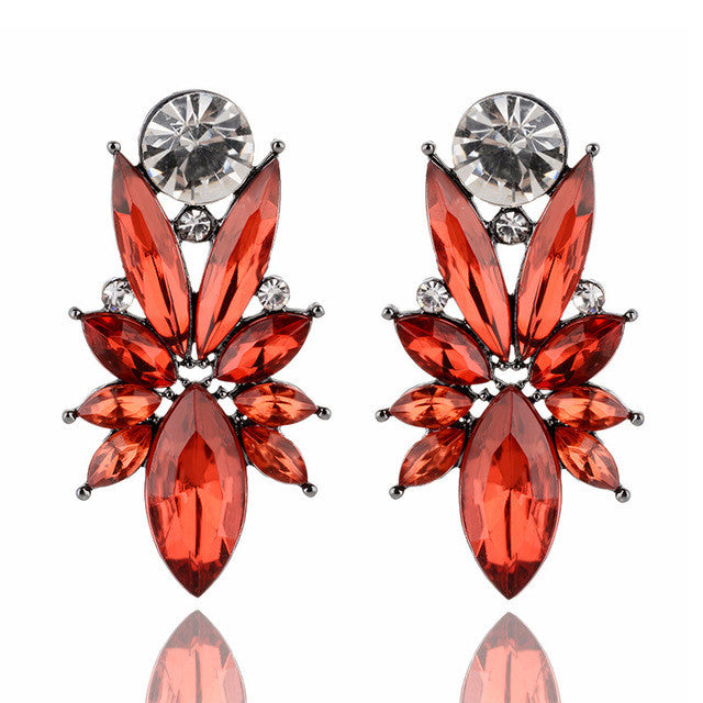I'm So In Love Earrings - Red