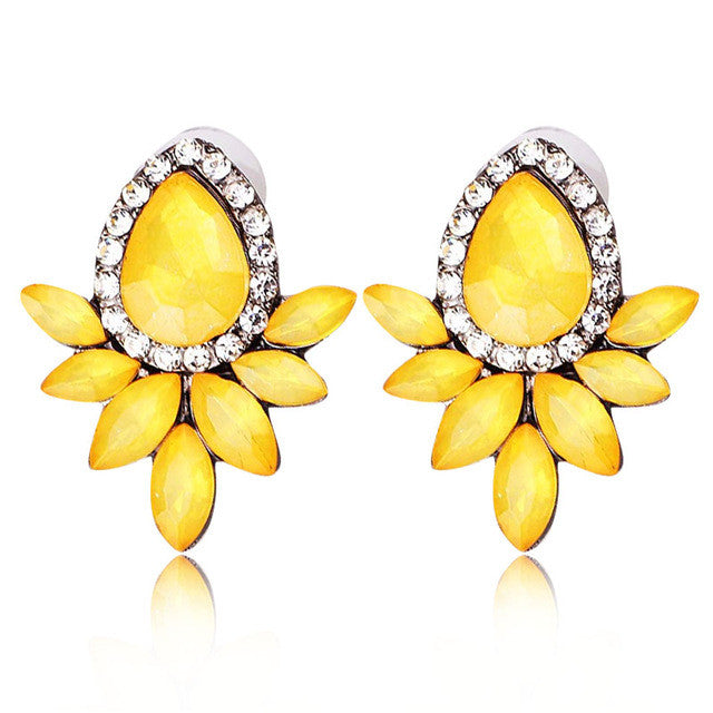 Magic Summer Earrings - Yellow
