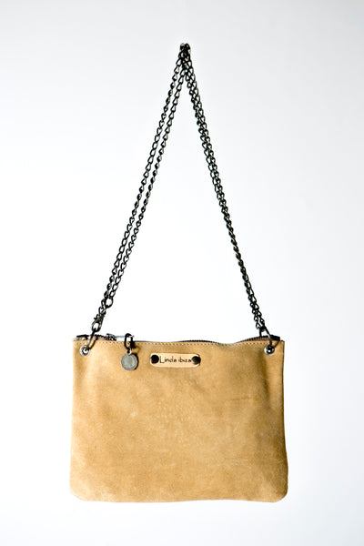 The Beige Handmade Leather Handbag