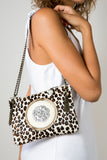 The Leopard Handmade Leather Handbag