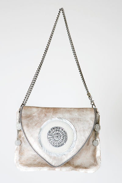 Angel Leather Handbag Linda Ibiza