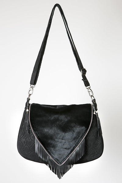 leather designer bag, bohemian style