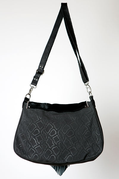 Big Nicole Bag III - one of our signature handmade black leather handbags