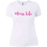 Boss Life -  Next Level Ladies' Boyfriend T-Shirt - Royal Teez Xpress, [poduct_type] - mug, cup, tshirt, hoodie, phone case, tablet case, coaster, apron
